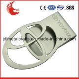 Зажим деньг металла серебра промотирования фабрики изготовленный на заказ с подгонянным логосом