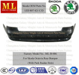 Заднее Bumper для Skoda Octavia с Park Raidar Hole From 2009-2-ым Generation (No автозапчастей OEM: 1ZD 807 421C/D)