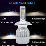 Kit para carro Iluminação automóvel da China por grosso 50W com super brilhante de alta potência das lâmpadas automático barato 7600lm Hi Low Aluguer de luz de LED (H4 9007 9004)