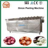Máquina de casca da cebola e máquina de lavar da batata da cebola