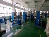 FTTHのエクスポートUSA/Spain/Korea/Russia/Brazil/Iran (CE/ISO9001/2Yr保証)のためのターミナル光ファイバドロップ・ケーブルおおうラインか屋内光ファイバケーブル機械