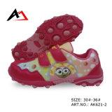 Chaussures de marche d'impression de carton de confort de chaussures de sports pour les enfants (AK621-2)