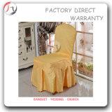 黄色いファブリック中国の製造業者の供給の椅子カバー(YT-06)