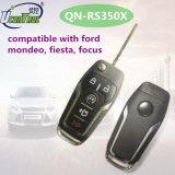 Flip Key Compatible avec Ford Mondeo, Fiesta, Focus avec 5 boutons 315MHz et 433MHz