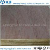 madeira compensada comercial laminada de 4X8 Okoume folheado natural