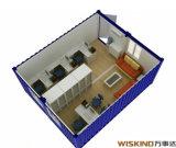 Fácil instalar la casa de oficina del envase
