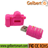 Disco de USB del PVC de la forma de la cámara para el regalo de la promoción
