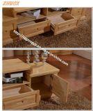 Festes Holz Fernsehapparat-Schrank-Wohnzimmer-Möbel-hölzerner Schrank
