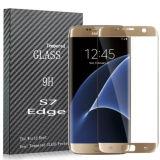 Het hoogtepunt boog 3D Aangemaakte Beschermer van het Scherm van het Glas voor de Rand van de Melkweg van Samsung S7