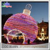 كبيرة [لد] خارجيّة عيد ميلاد المسيح يشعل كرة عطلة خفيفة حديقة زخرفة ضوء