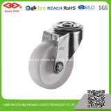 o giro industrial de 125mm PP freou o rodízio (P103-30D125X35IS)