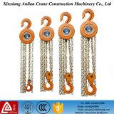 Grua Chain elétrica manual do tamanho pequeno, bloco Chain