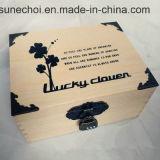 Высокая Quanlity лакировка ювелирные изделия из дерева подарочная упаковка с петлей и блокировки