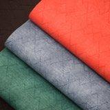 Faux Retro couro de PVC de costura Bordados Bag cabedais de couro