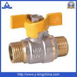 Латунный клапан воды используемый в воде (YD-1012)