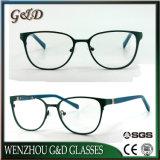 Nuevo modelo de gafas de metal popular producto bastidor óptica gafas