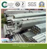 Fábrica de fornecimento de tubos sem costura de aço inoxidável para construção