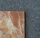 Lastra naturale Polished del marmo di colore rosso arancione