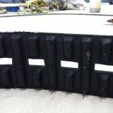 Mini les chenilles en caoutchouc pour le Robot/ systèmes moto 140*80*36