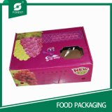로고 인쇄를 가진 도매 음식 급료 물결 모양 과일 포장 상자