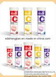 Таблетка c витамина флейвора померанца/голубики/клубники OEM Effervescent