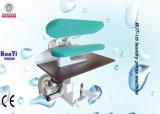Постельное белье в коммерческих целях прачечная пара нажмите машины для глажения с паром при нажатии кнопки тканью