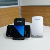 Carregador sem fio rápido para o iPhone 8/8 de Plus/X, Samsung S8/S8+