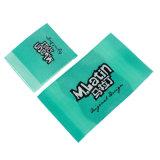 Comercio al por mayor ropa etiqueta tejida tejido lavable suave para la ropa de etiqueta el logotipo/bolsa