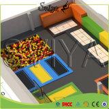 Parque olímpico ginástico do Trampoline de Ninja do salto livre para eles parque