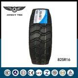 공급 고성능 TBR 타이어 750r16 825r16 825r20 트럭 타이어
