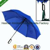 O artigo novo carreg o guarda-chuva do golfe da fibra de vidro da alta qualidade do punho do aperto (GOL-0030FA (G))