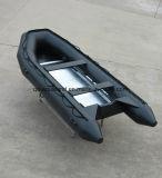 Aqualand 13pies 4,25m militar de rescate de goma inflables/barco de motor (NCA425)
