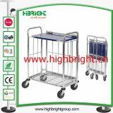Steel Material Handling Platform Trolley Cart