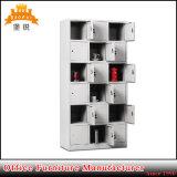 18 portas Móveis de metal Ginásio de Esportes Armário para armazenamento de vestuário Locker
