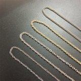 Halsband van de Tegenhanger van de Ketting van het Metaal van de Vrouwen van het Roestvrij staal van de Juwelen van de manier de Lange