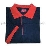 T-shirt court adulte de chemise de coton