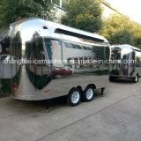 Chariots mobiles de nourriture de kiosque de nourriture d'acier inoxydable à vendre Jy-B54