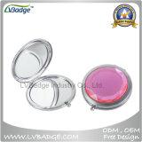 Kompakte faltbare und geeignete kosmetische Spiegel-Tasche bilden Spiegel