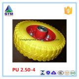 2.50-4 O plutônio dá forma à roda do rodízio do plutônio da roda da indústria da roda