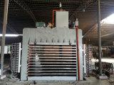 Holzbearbeitung-hölzerne heiße Presse-Maschine 2007 für Möbel