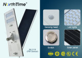 Campione che fornisce l'alta lampada di via solare di luminosità LED sulla vendita