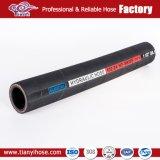 Tubo flessibile idraulico di gomma Braided inossidabile di SAE 100 R1 R2