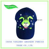 昇進の濃紺のフラグの刺繍のバイザーの帽子