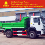 4*2 HOWO 6 Wheels 5 tone Small dump Truck for halls