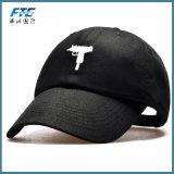 Gorra de béisbol apenada sombrero no estructurado de encargo del papá