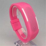 Digitale LEIDEN van de Band van het Silicone van het Product van Gelbert Nieuwe Horloge