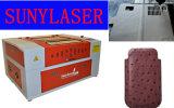 Cortador de alta velocidade do laser para o caso de Leaher do telefone de pilha