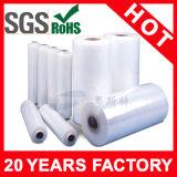 Película de estiramento do envoltório plástico da pálete do uso da máquina