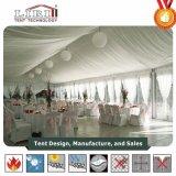 Weiße Hochzeits-Zelte für Hochzeiten, weißes Hochzeits-Festzelt für 500 Leute