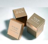 Logotipo personalizado de impresión en color y el paquete de lujo en papel especial Set de Regalo cosmética caja de embalaje